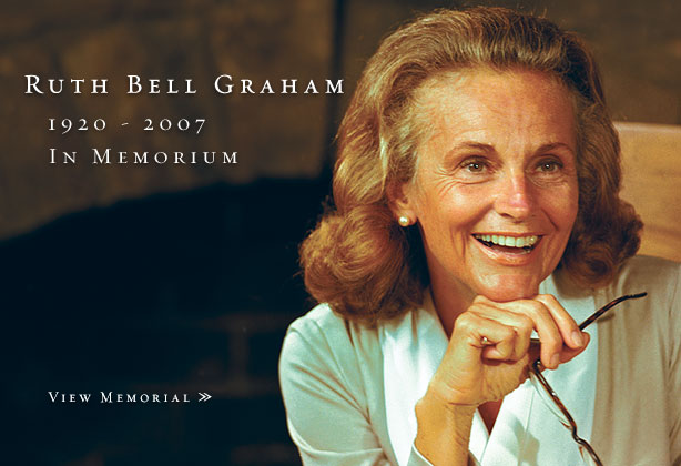 billy graham. Billy Graham#39;s wife Ruth dies